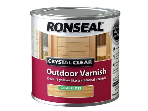 Crystal Clear Outdoor Varnish Matt 250ml