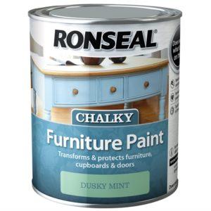 Chalky Furniture Paint Dusky Mint 750ml