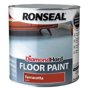 Diamond Hard Floor Paint Terracotta 2.5 Litre