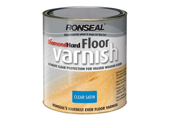 Diamond Hard Floor Varnish Satin 2.5 litre