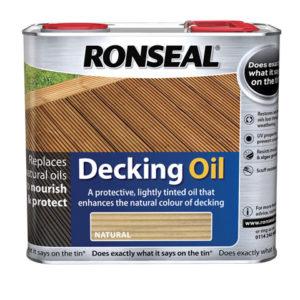 Decking Oil Natural Oak 2.5 Litre