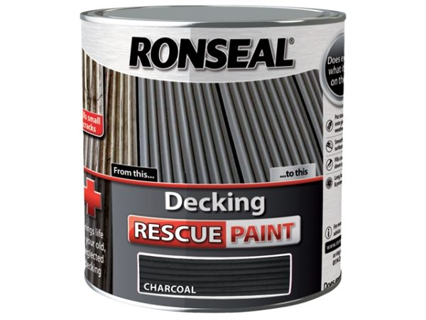 Decking Rescue Paint Charcoal 2.5 Litre