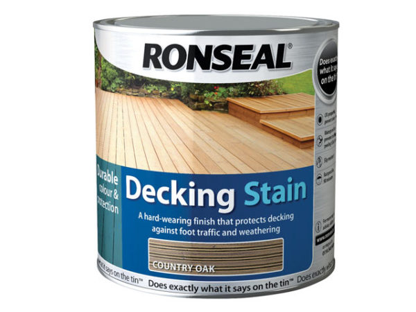Decking Stain Country Oak 2.5 Litre