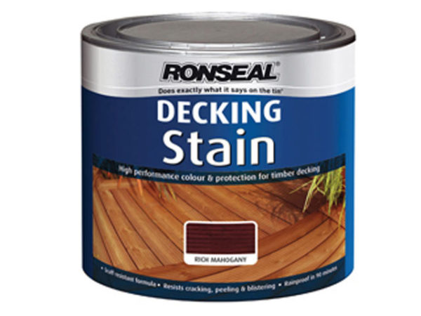 Decking Stain Rich Mahogany 2.5 Litre