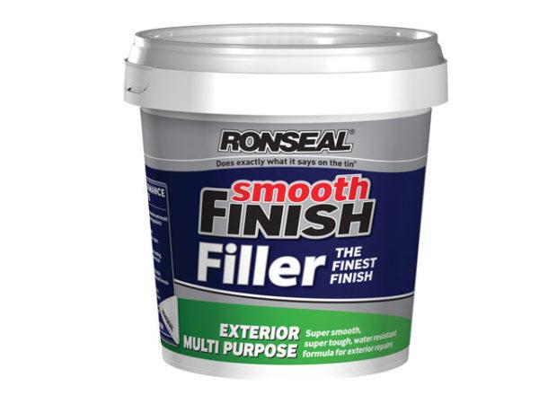 Smooth Finish Exterior Multi Purpose Ready Mix Filler Tub 1.2kg