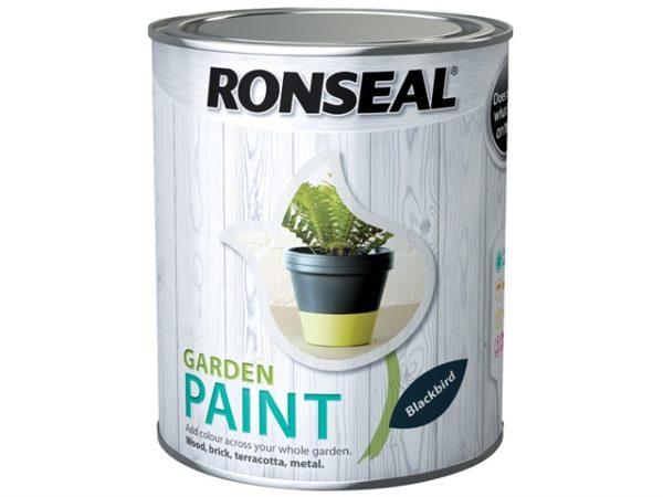 Garden Paint Black Bird 2.5 litre