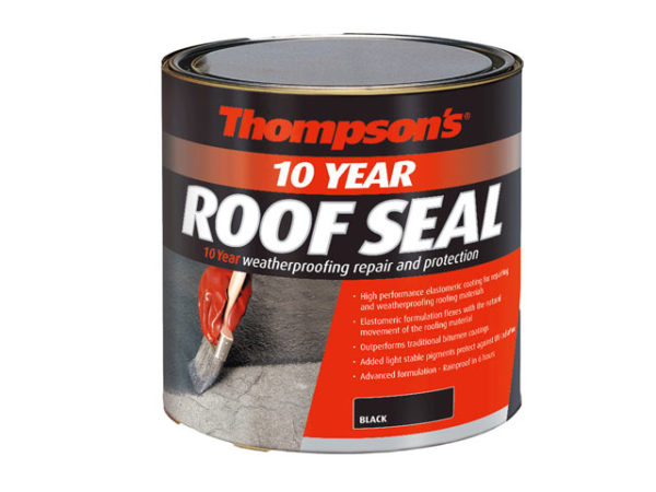Thompson's Roof Seal Black 2.5 litre