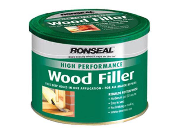 High Performance Wood Filler Dark 550g