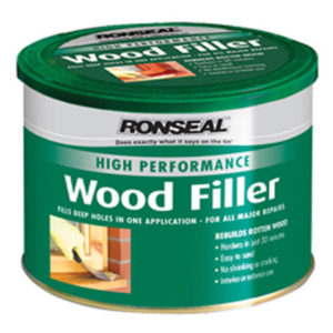 High Performance Wood Filler White 275g