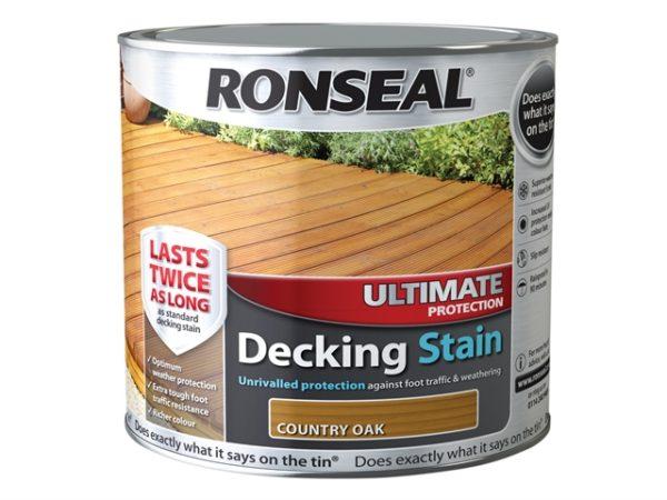 Ultimate Protection Decking Oil Natural Oak 5 Litre