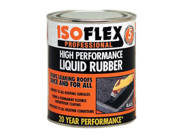 Isoflex Liquid Rubber Black 4.25 litre