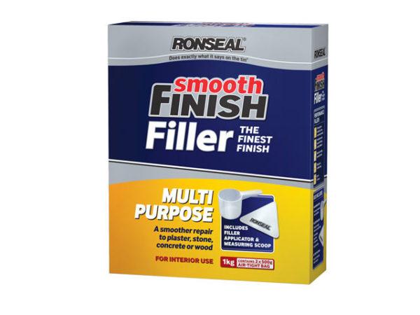 Smooth Finish Multi Purpose Wall Powder Filler 1kg