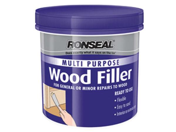 Multi Purpose Wood Filler Tub White 250g