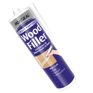 Multi Purpose Wood Filler Cartridge Dark 310ml