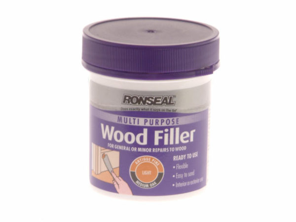 Multi Purpose Wood Filler Tub Light 250g
