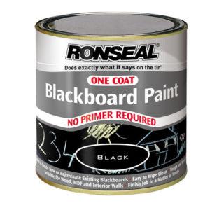 One Coat Blackboard Paint 250ml