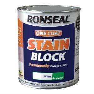 One Coat Stain Block White 2.5 litre