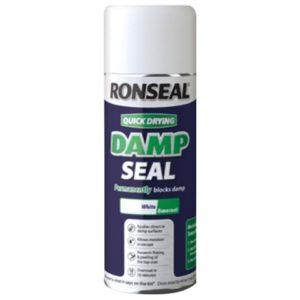 Quick Dry Damp Seal Aerosol White 400ml