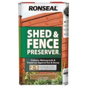 Shed & Fence Preserver Black 5 Litre