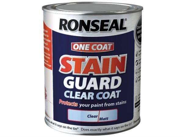 Stain Guard Clear Coat Matt 2.5 litre