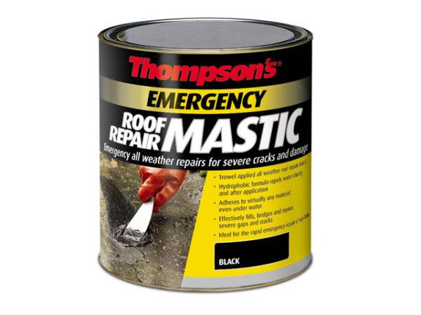 Thompson's Emergency Roof Repair Mastic 750ml