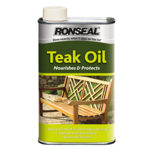 Garden Furniture Teak Oil Can 500ml