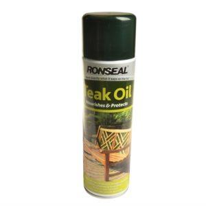 Garden Furniture Teak Oil Aerosol 500ml