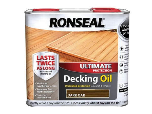 Ultimate Decking Oil Dark Oak 2.5 Litre