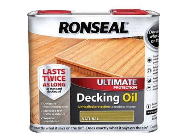 Ultimate Decking Oil Natural 2.5 Litre