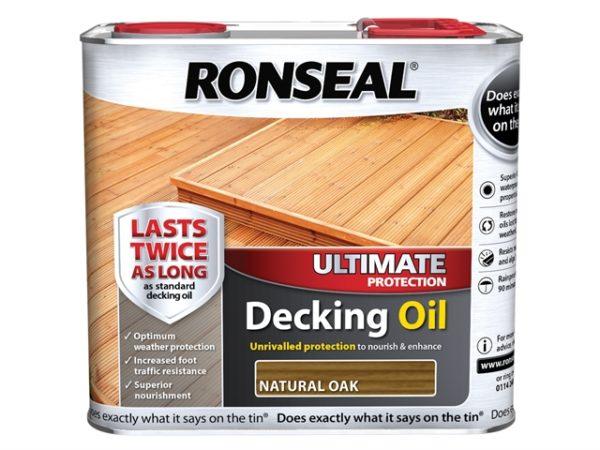 Ultimate Decking Oil Natural Oak 2.5 Litre