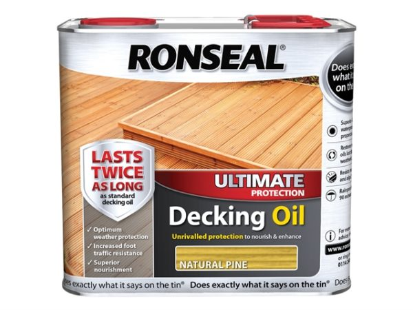 Ultimate Decking Oil Natural Pine 2.5 Litre