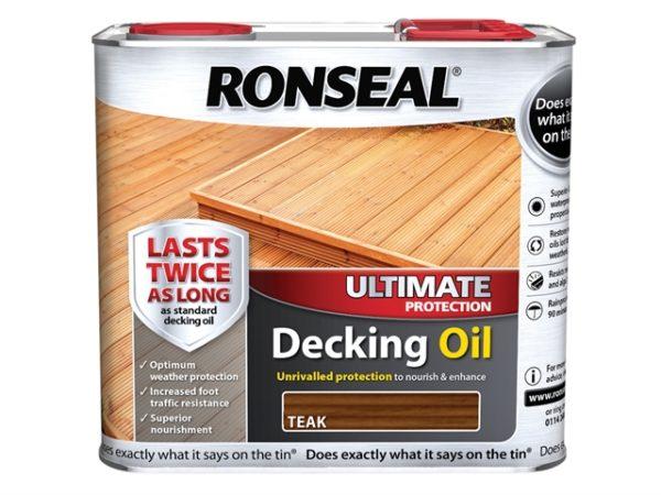 Ultimate Decking Oil Teak 2.5 Litre