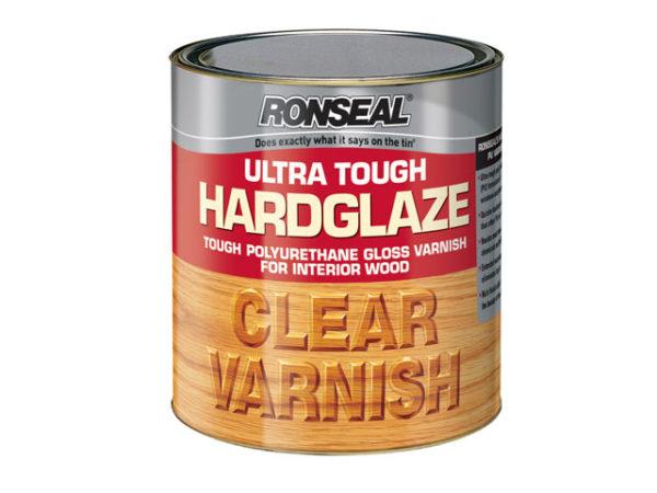 Ultra Tough Hardglaze Internal Clear Gloss Varnish 750ml