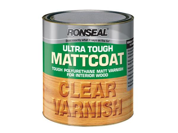 Ultra Tough Internal Clear Mattcoat Varnish 250ml
