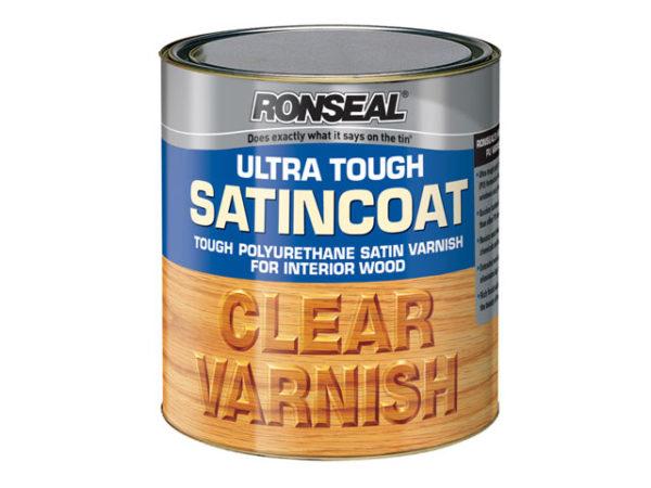 Ultra Tough Internal Clear Satincoat Varnish 2.5 Litre