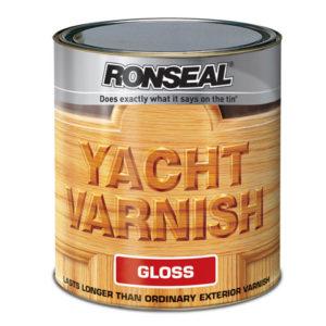 Exterior Yacht Varnish Satin 2.5 Litre