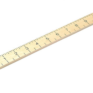 Hardwood 1 Metre Stick Plain