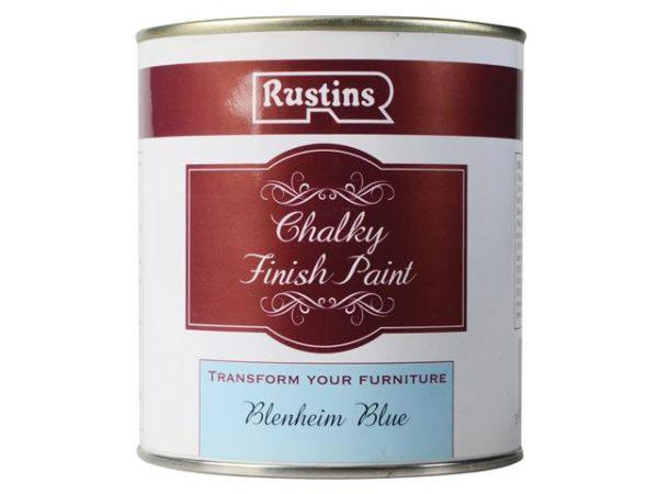 Chalky Finish Paint Blenheim Blue 500ml