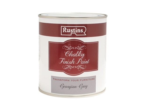 Chalky Finish Paint Georgian Grey 500ml