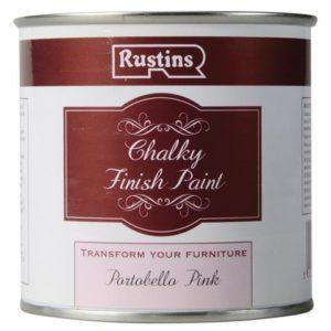 Chalky Finish Paint Portobello Pink 250ml