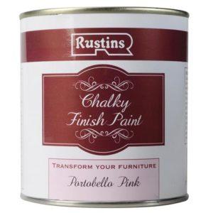 Chalky Finish Paint Portobello Pink 500ml