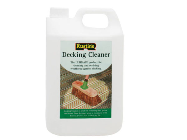 Decking Cleaner 4 Litre