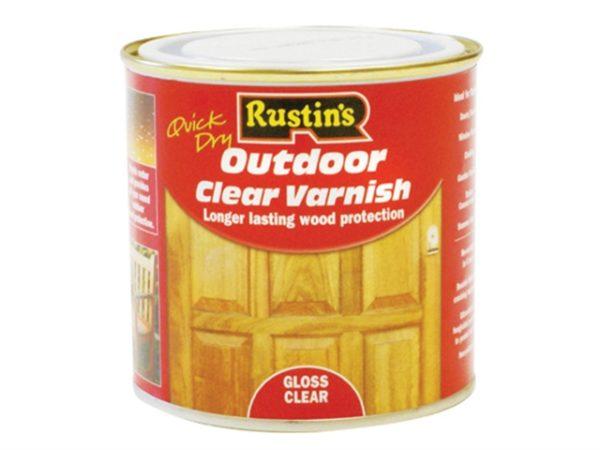 Exterior Varnish Clear Gloss 2.5 Litre