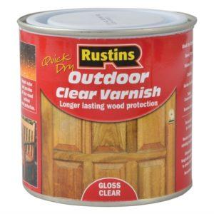 Exterior Varnish Clear Gloss 250ml