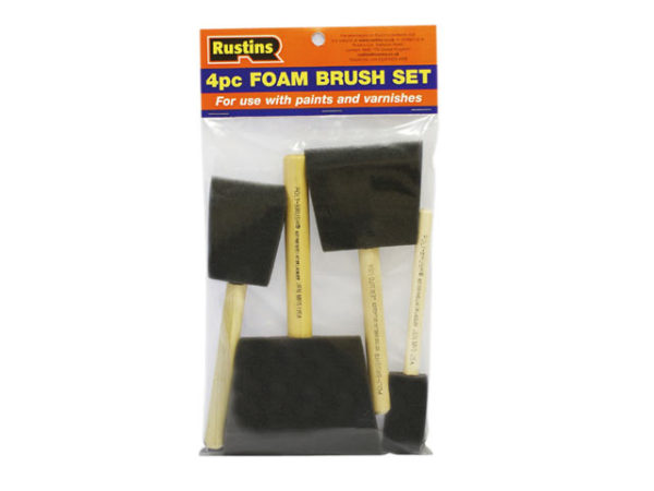 Foam Brush Set (1 2 3 & 4in)