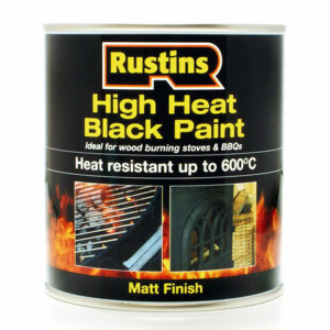 High Heat Paint 600°C Black 250ml