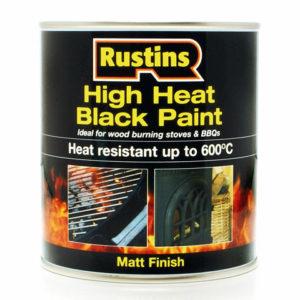 High Heat Paint 600°C Black 500ml