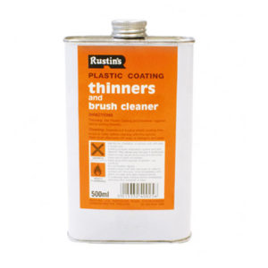 Plastic Coating Thinners 500ml