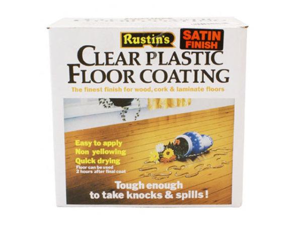 Clear Plastic Floor Coating Kit Gloss 4 litre