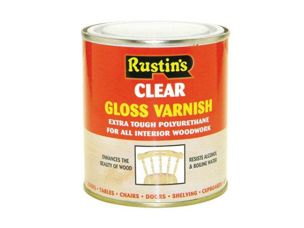 Polyurethane Varnish Gloss Clear 500ml